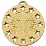 40mm Open Star Medal AM862